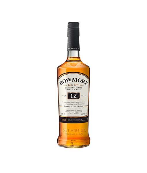 Chai Rượu Bowmore 12 năm tuổi với hương vị khói và than bùn