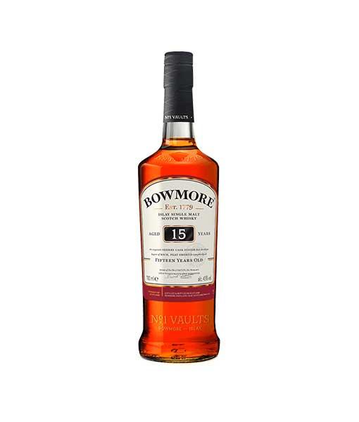Chai Rượu Bowmore 15 năm tuổi