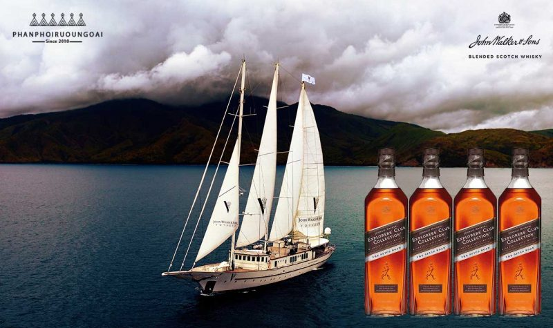 Con thuyền của Rượu Johnnie Walker Explorer's Club Collection - The Spice Road