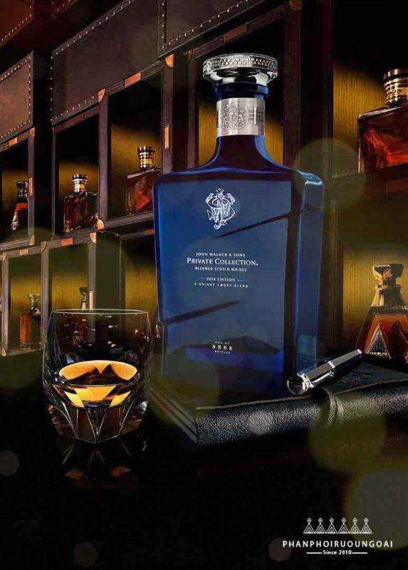 Rượu John Walker & Sons Private Collection sang trọng và đẳng cấp