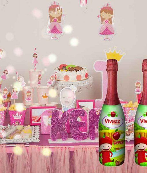 Đồ uống dành cho sinh nhật bé Sparkling Juice - Táo
