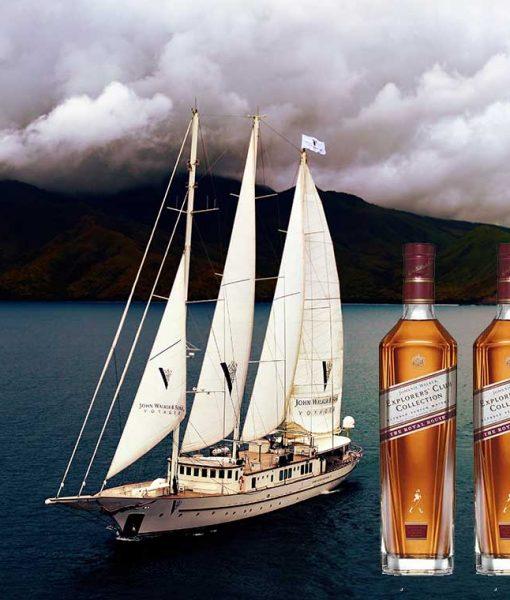 Hải trình của Rượu Johnnie Walker Explorer's Club Collection - The Royal Route