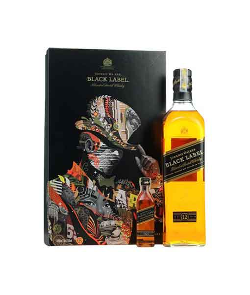 Hộp quà Johnnie Walker Black Label 2018