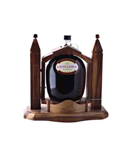 Kệ gỗ rượu vang Excellence 3 đỏ lít