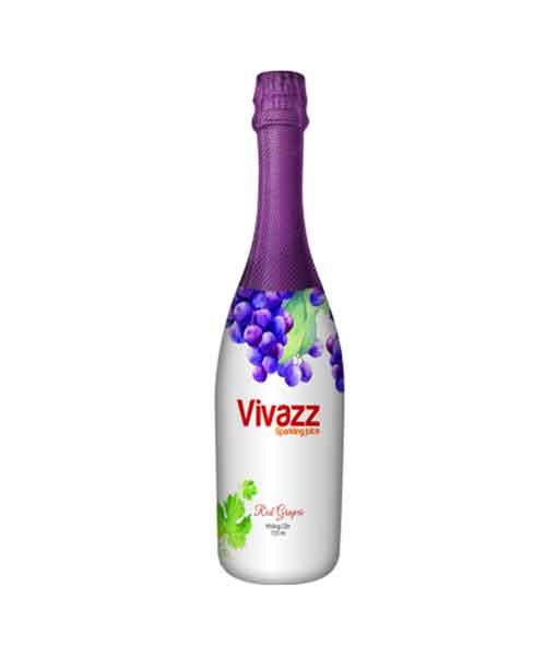Nước trái cây có Gas nho đỏ dành cho người lớn - Vivazz Sparkling Juice
