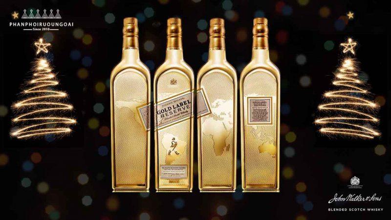 Phiên bản đặc biệt giới hạn của rượu johnnie walker gold label reserve