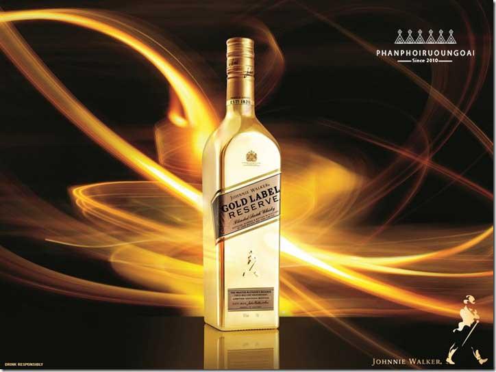 Ảnh quảng cáo Rượu Johnnie Walker Gold Label Reserve Limited Edition