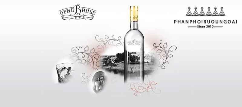 Quảng cáo rượu vodka bạch dương