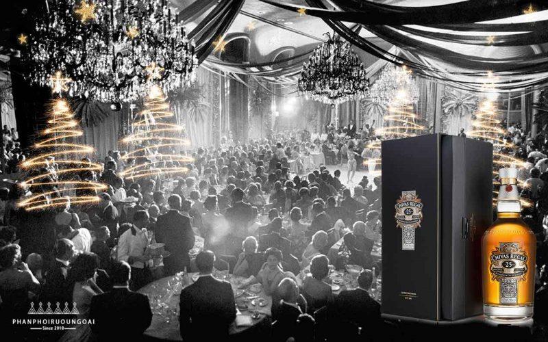 Rượu chivas 25 biểu tượng của loại rượu whisky sang trọng đầu tiên trên thế giới