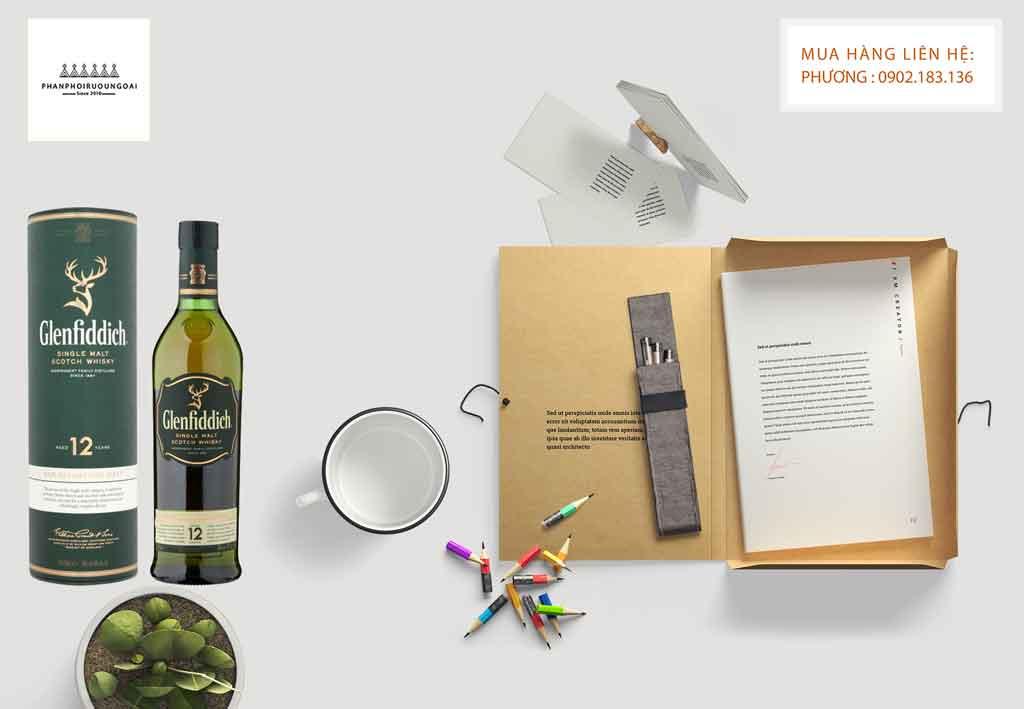 Rượu Glenfiddich 12 năm món đồ uống để chia sẻ với những người bạn