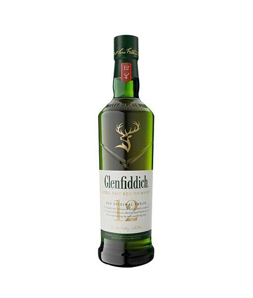 Rượu Glenfiddich 12 năm tuổi mẫu mới 2020