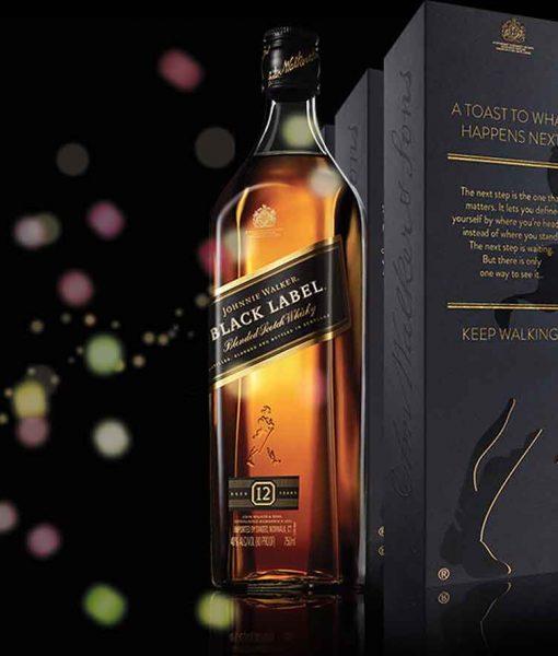 Rượu Johnnie Walker Black Label - Đỉnh Everest của các loại Whisky cao cấp