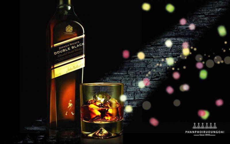 Rượu whisky cho người sành - Rượu Johnnie Walker Double Black