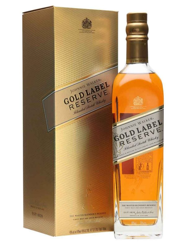rượu johnnie walker gold label reserve hộp giấy