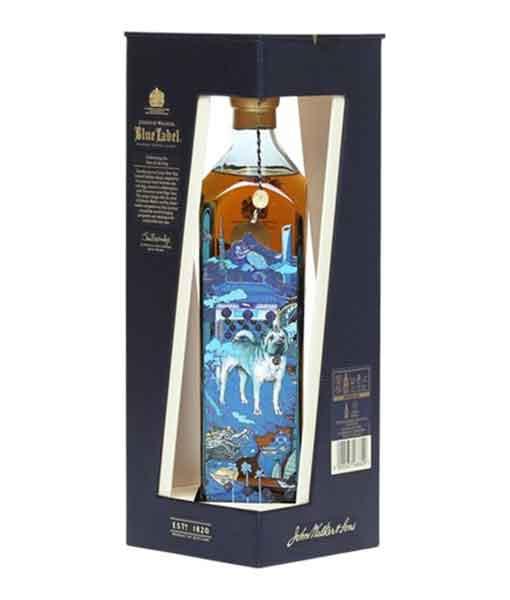 Rượu Johnnie Walker Blue Label hộp quà năm tuất 2018