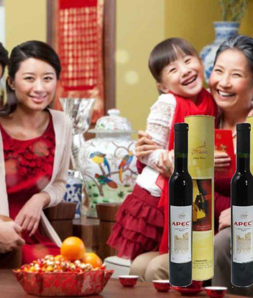 Rượu vang Apec 14th món quà tuyệt hảo cho dịp tết nguyên đán 2018
