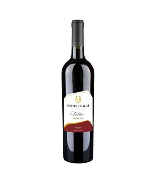 Rượu vang Chateau Dalat Tradition -Merlot