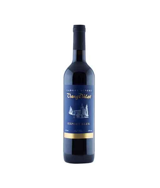 Rượu vang đà lạt Export Blue - Red Wine