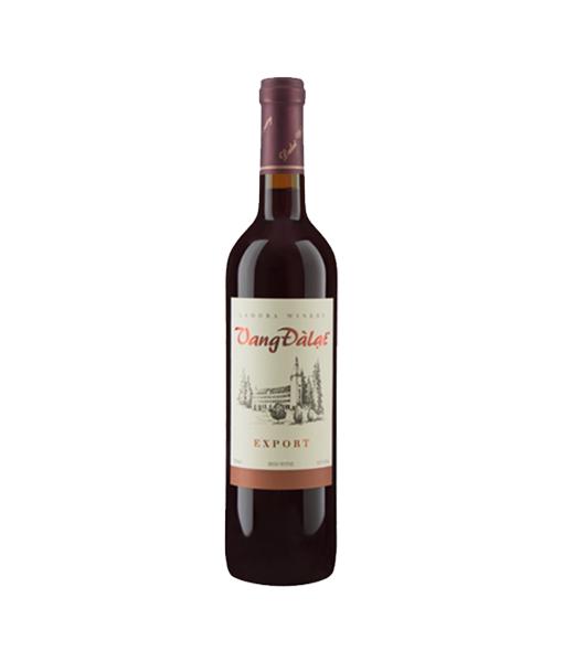 Rượu vang đà lạt export red