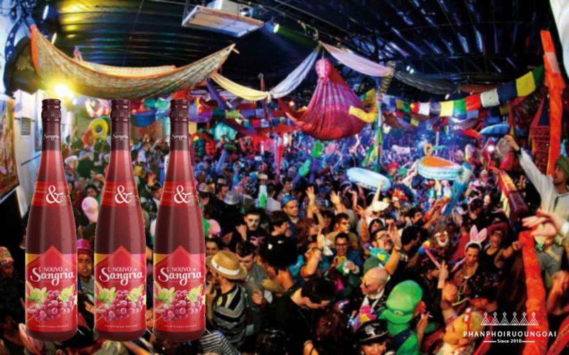 Rượu vang Nouvo dựa trên công thức đồ uống truyền thống của Tây Ban Nha