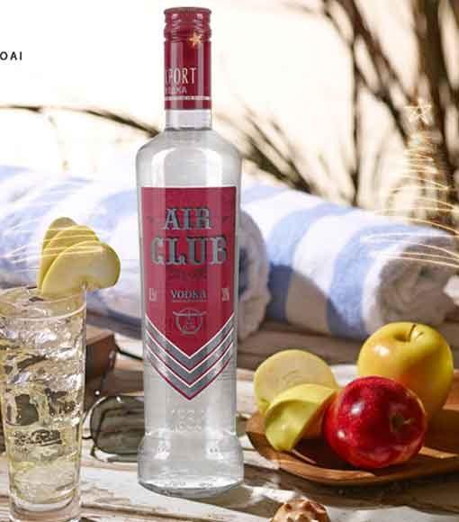Rượu Vodka Bay - Air Club cũng là sản phẩm nền tuyệt hảo để tạo nên những ly Cocktail