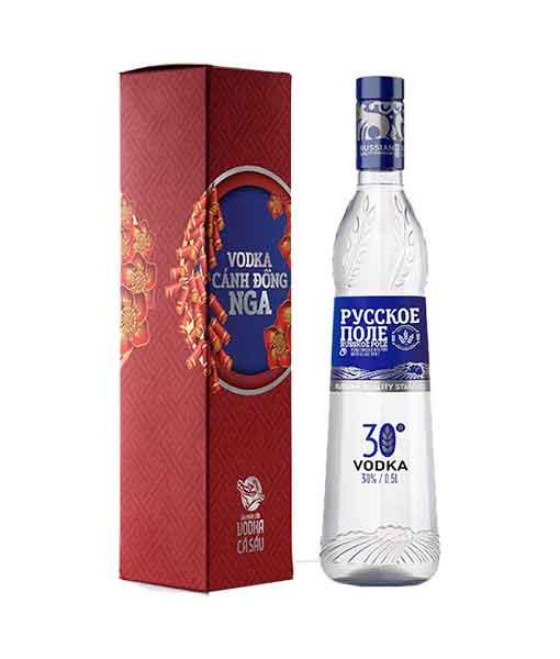 Rượu Vodka Cánh đồng nga tết 2020