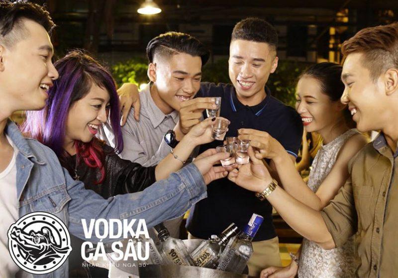 Rượu vodka gấu đen - Black Bear an toàn để thưởng thức