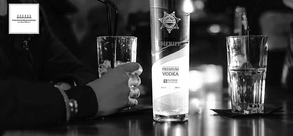Rượu Vodka Men Sheriff sang trọng và lịch lãm