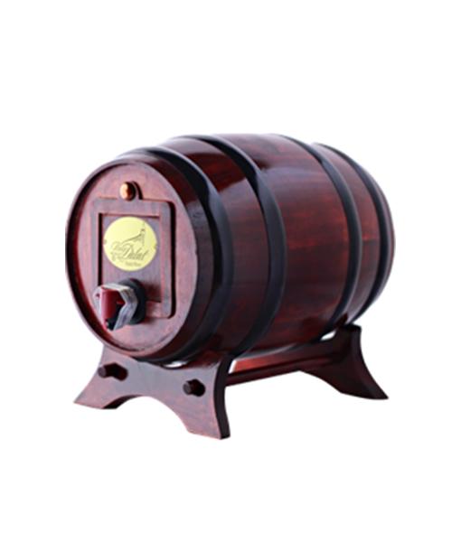 Trống gỗ rượu vang đà lạt Classic 3 lit