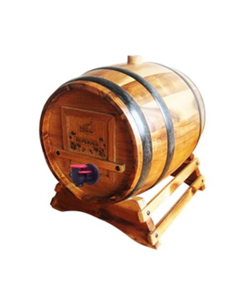 Rượu vang trống gỗ vang đà lạt 3 lít Superior