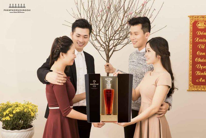 Biếu tặng rượu Macallan No6 - The Macallan