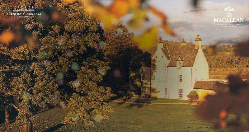 Căn nhà truyền thống Easter Elchies của Rượu Macallan