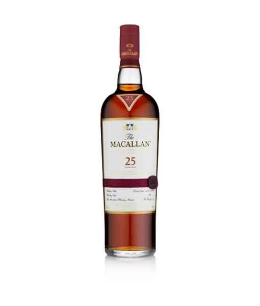 Chai Rượu Macallan 25 năm Sherry Oak