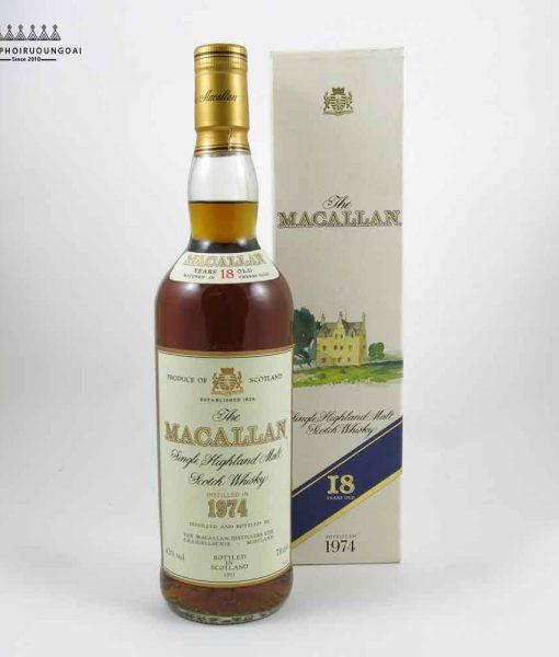Hình ảnh rượu Macallan 18 năm 1974
