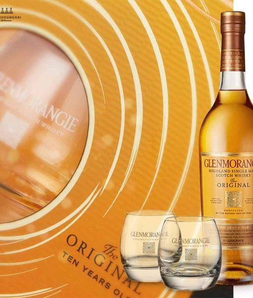 Hộp quà 2018 của rượu Glenmorangie Original