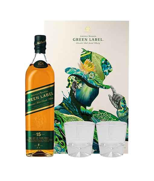 Hộp quà Rượu Johnnie Walker Green Label