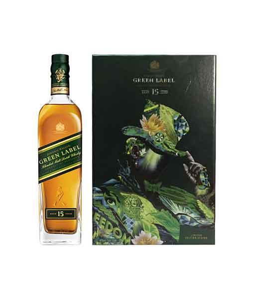Hộp quà Johnnie Walker Green Label 2018
