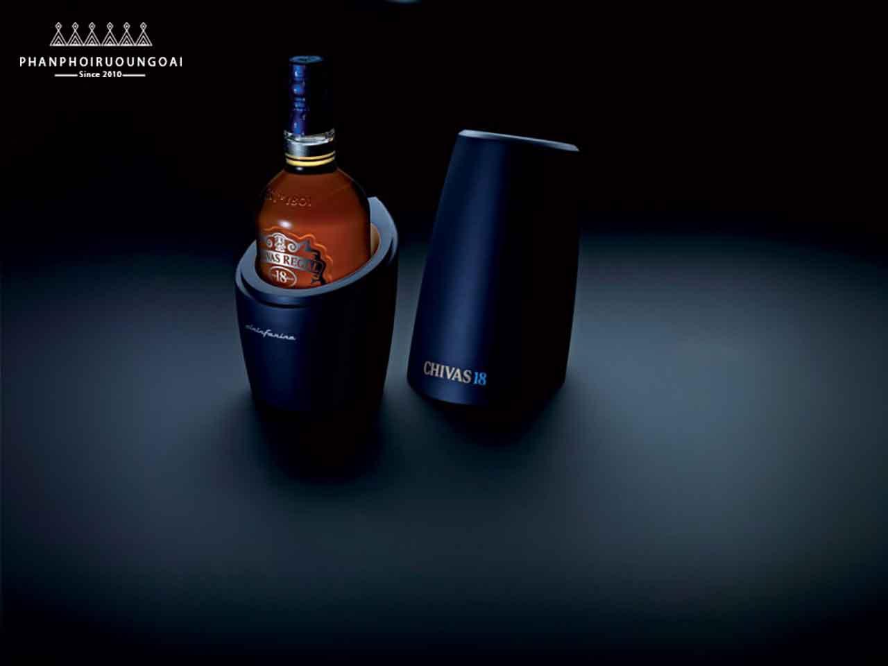 Hộp rượu Chivas 18 Pininfarina Level 1