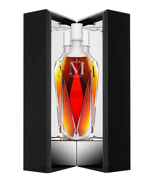 Mở hộp rượu Macallan M - The Macallan