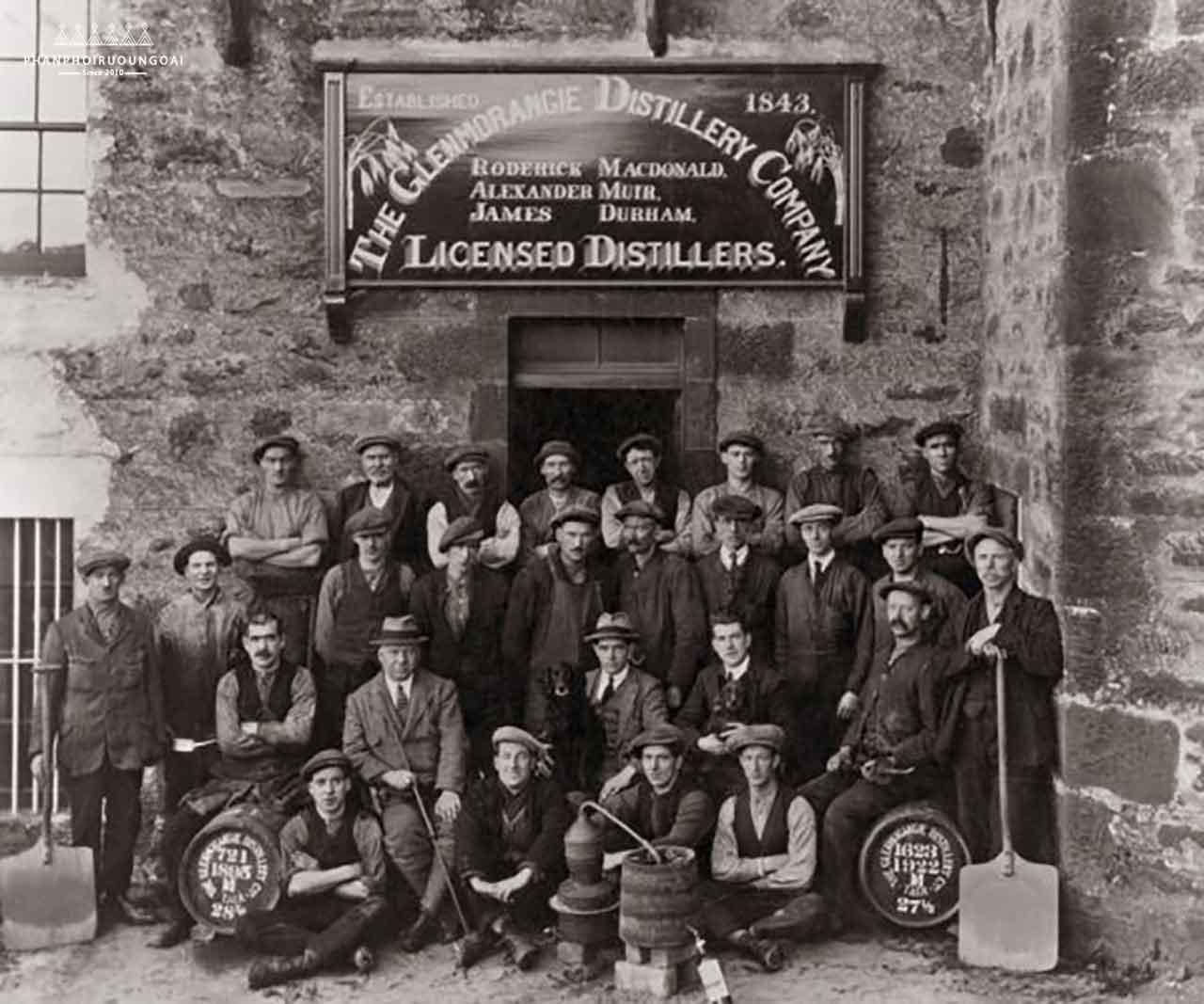 Những người đàn ông Man of Tain 1922 - Rượu Glenmorangie