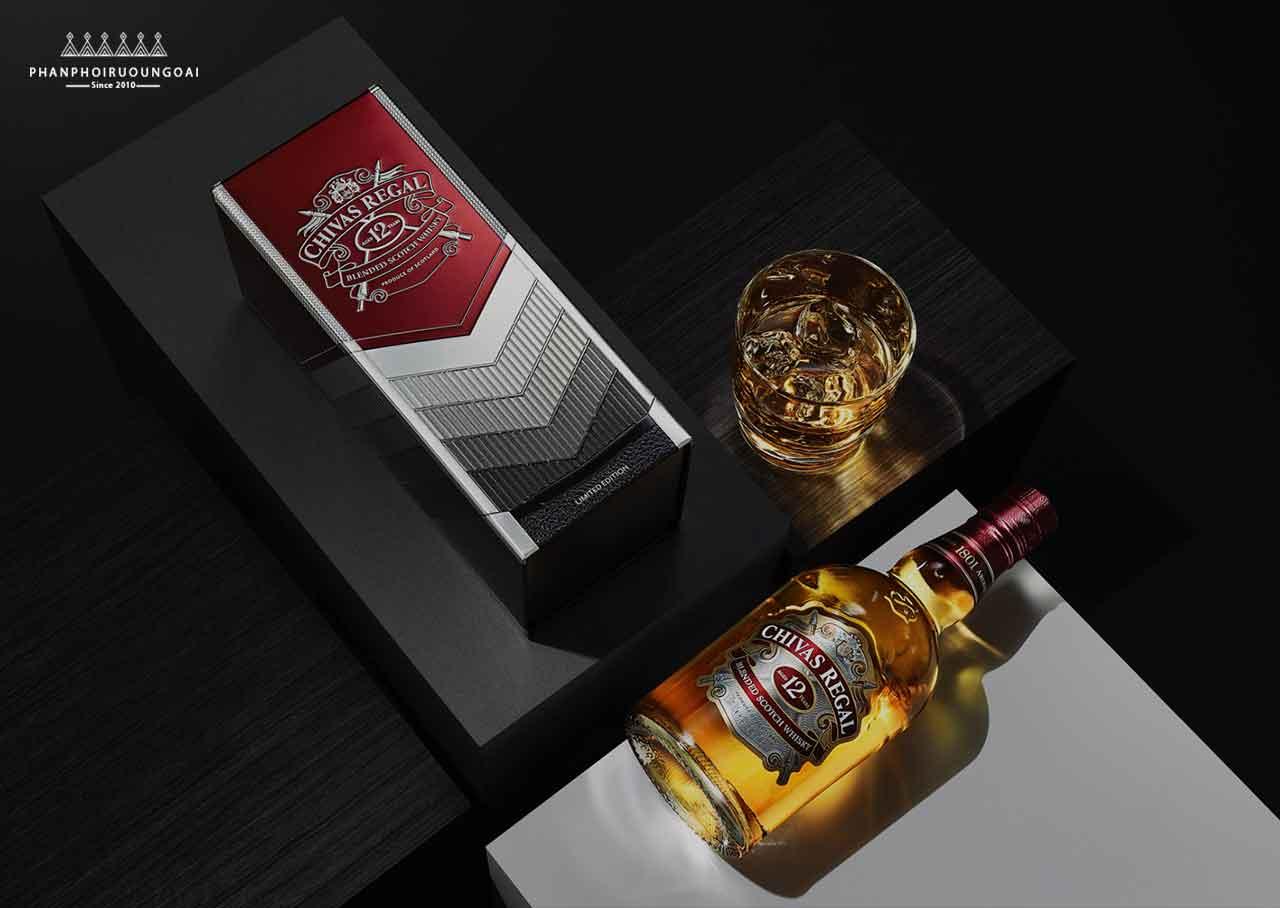 Phiên bản giới hạn của Rượu Chivas 12 Generosity Amplified Limited Edition