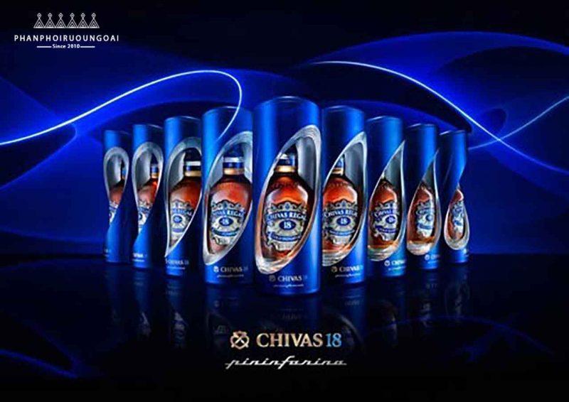 Rượu Chivas 18 Pininfarina Level 3 - Lần hợp tác thứ 3