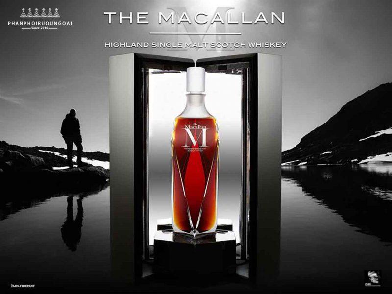 Macallan M loại rượu Macallan cao cấp nhất của dòng 1824 Masters Series