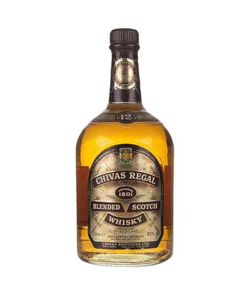 Rượu Chivas 12 năm 1000 ml - 1980s