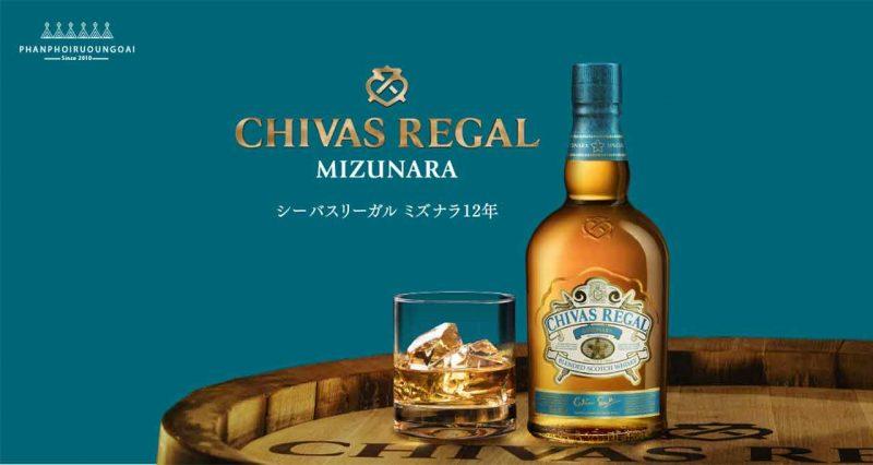 Rượu Chivas Mizunaza Special Edition - Chivas 12 Nhật Bản