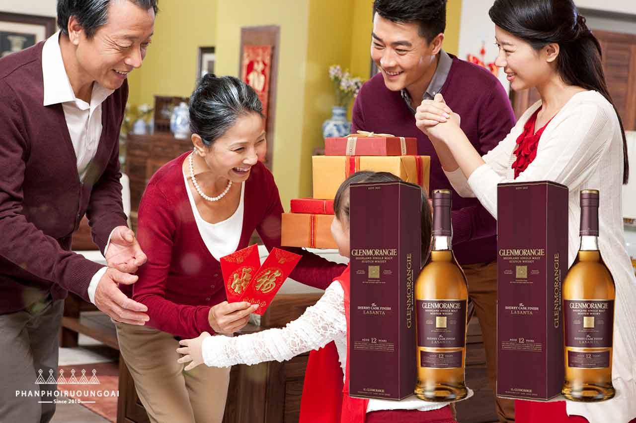 Rượu glenmorangie The Lasanta thích hợp cho thưởng thức và biếu tặng