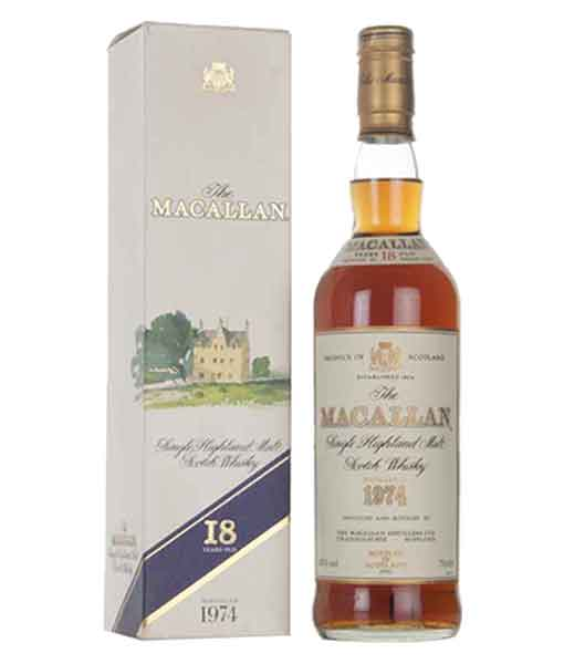 Rượu Macallan 18 năm 1974 - Dành cho người sưu tầm