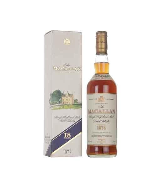 Rượu Macallan 18 năm 1974
