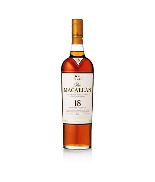 Rượu Macallan 18 năm Sherry Oak