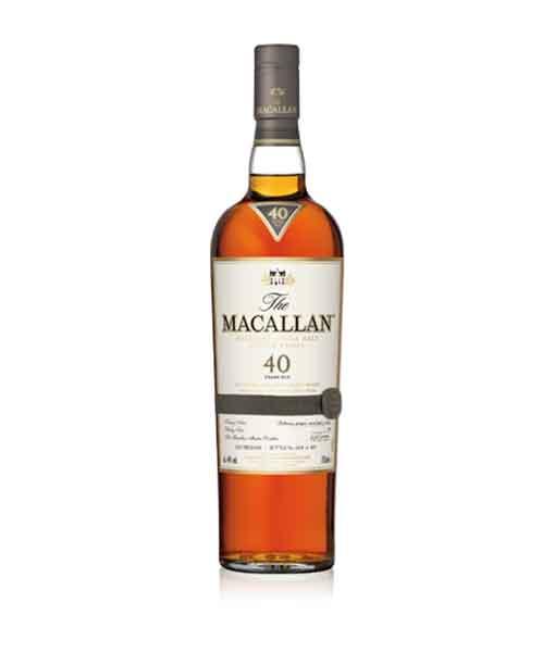 Chai Rượu Macallan 40 năm Sherry Oak